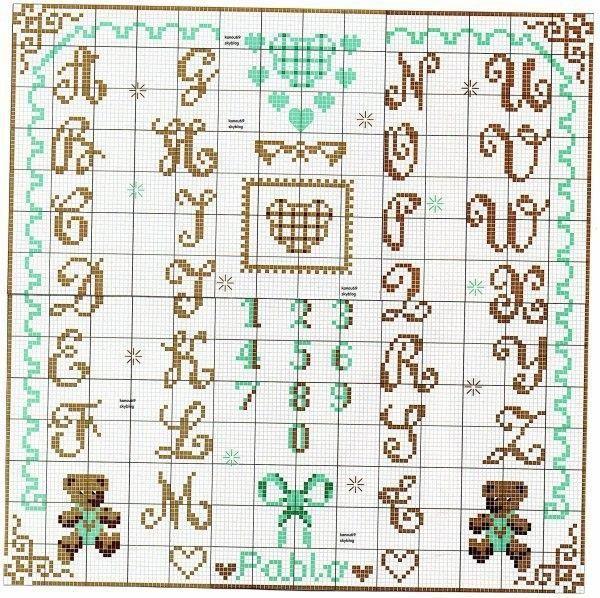 grille pouint de croix analfabet - Page 9