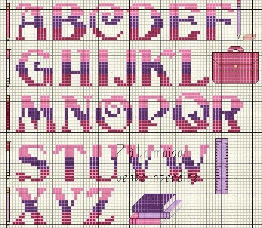 Top grille pouint de croix analfabet - Page 7 TE28