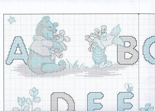 Grille pouint de croix analfabet page 9 - Alphabet au point de croix grille gratuite ...